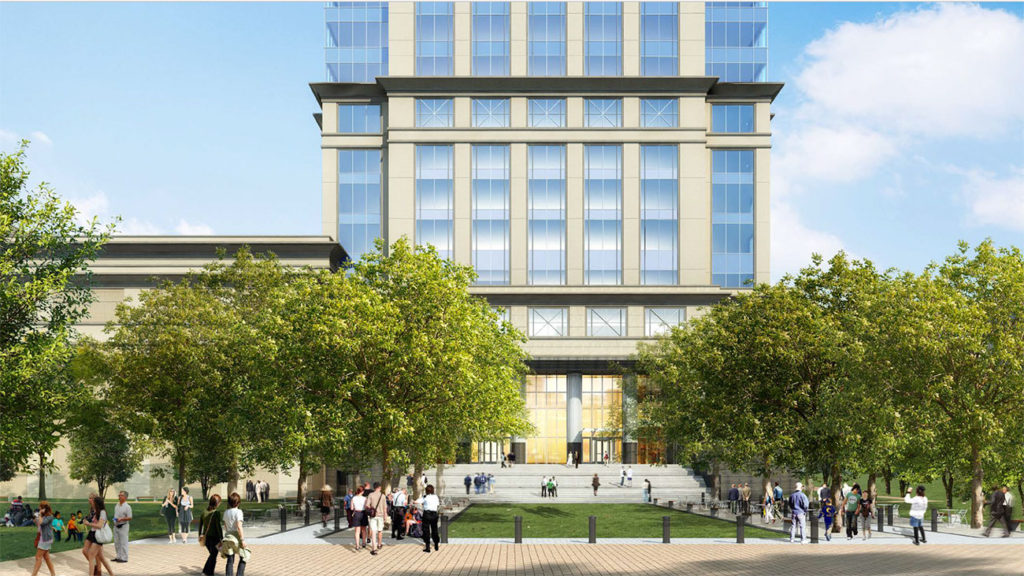 Second office tower in the works at former Observer site