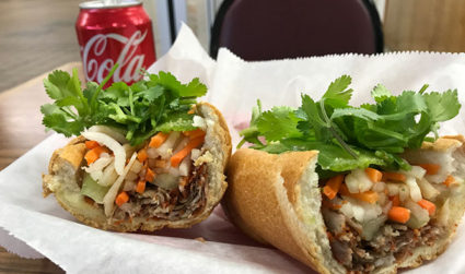 I went to Le's Sandwiches for the first time and their Banh Mi lives up to the hype