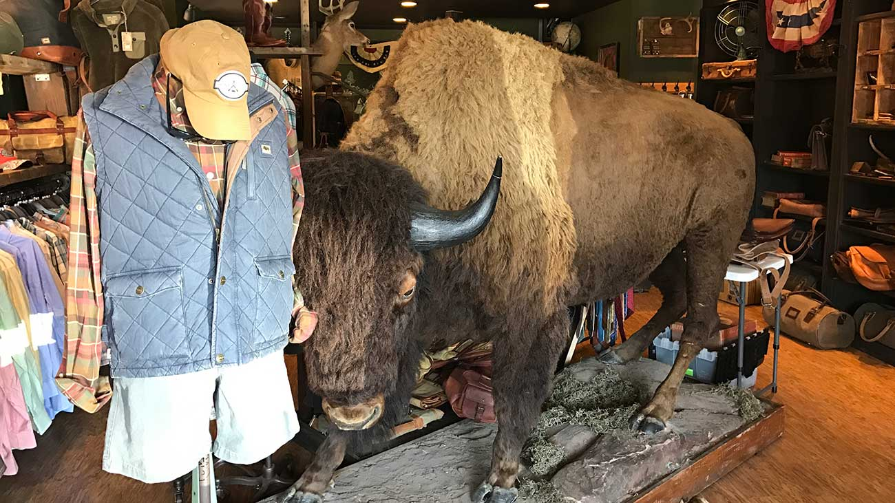Buffalo Jackson is the manliest store in the Charlotte metropolitan area