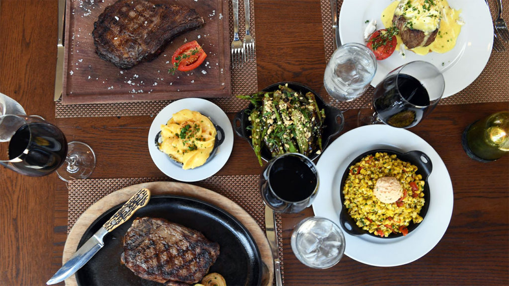 Oak Steakhouse opens in SouthPark this week. Take a look inside and see the food