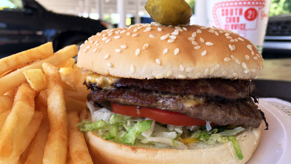 Have you eaten the $5.65 Super Boy Hamburger served curbside?