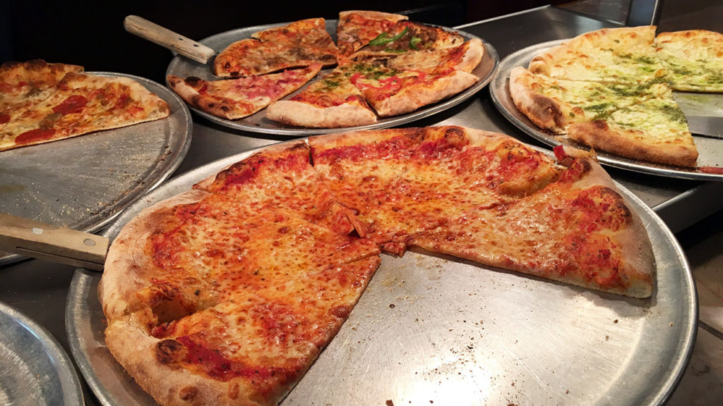Do you know about Luisa's all-you-can-eat pizza, pasta, salad buffet for $8 on Montford?