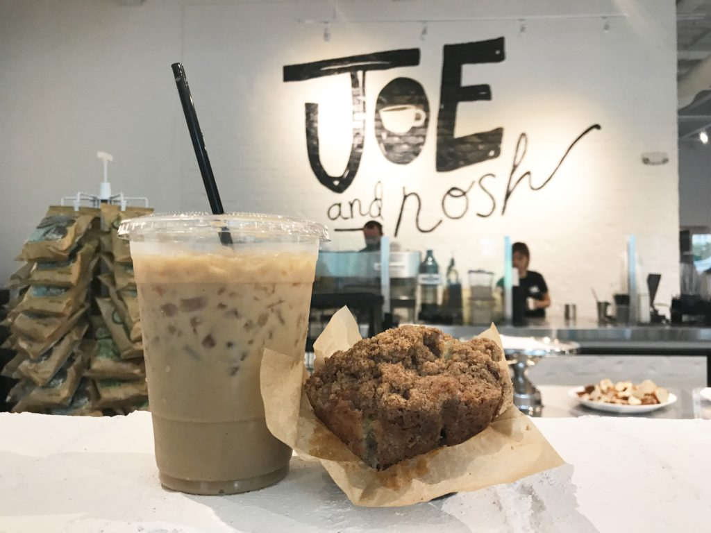 Joe and Nosh, the new coffeeshop on East Morehead, will open Monday