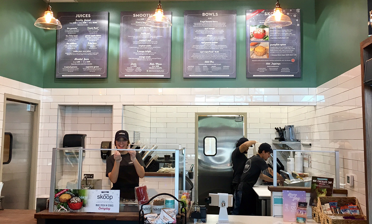 California-based Nekter Juice Bar now open in South End — celebrating with $1, 16-ounce smoothies on Friday