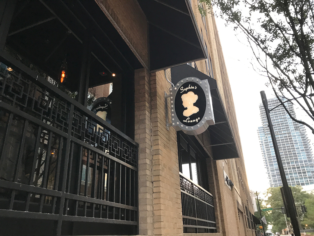 Sophia's Lounge is now open in the Ivey's Hotel