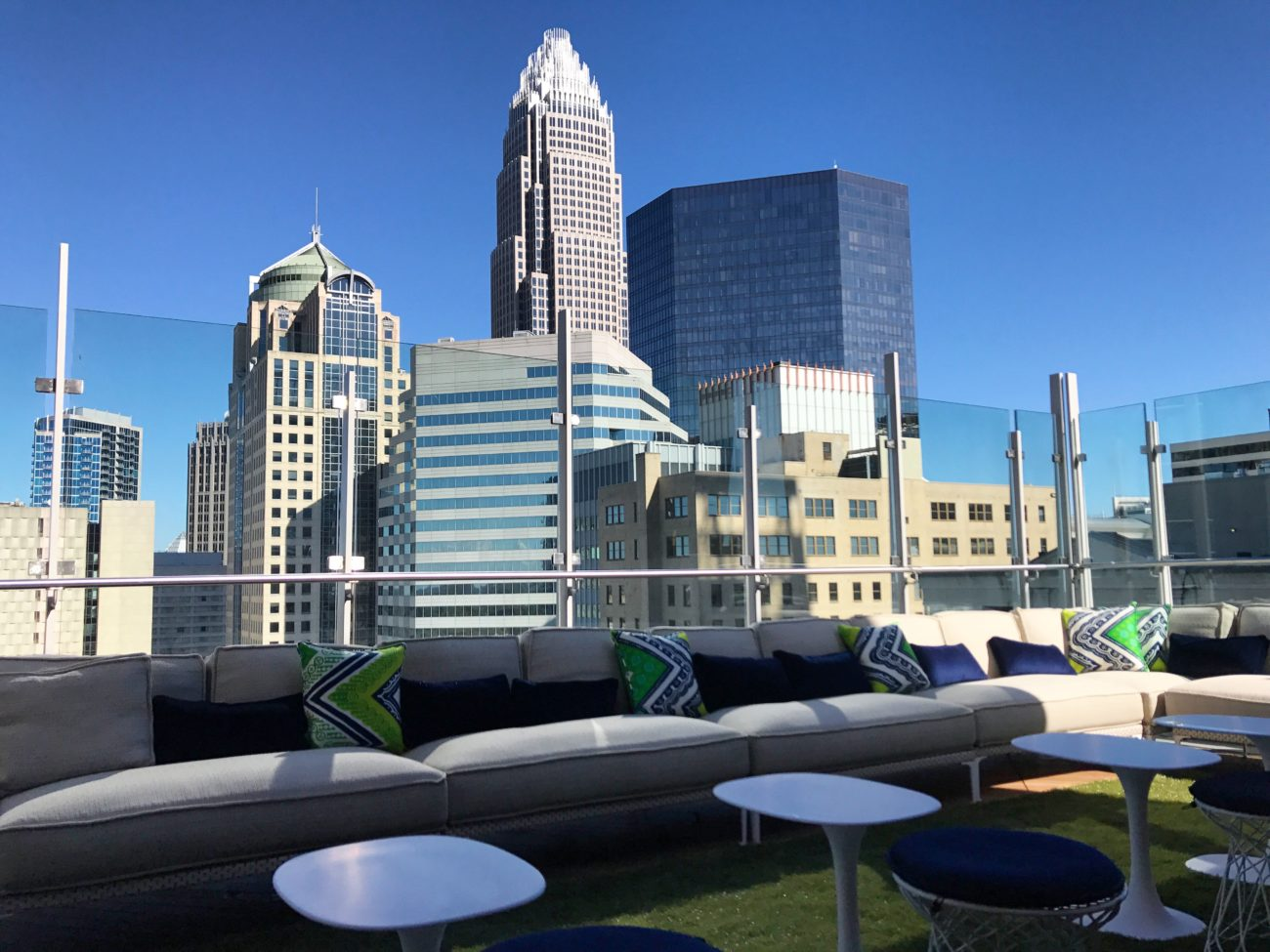FIRST LOOK: Inside Angeline's and Merchant & Trade, Uptown's newest restaurant and rooftop bar opening next week