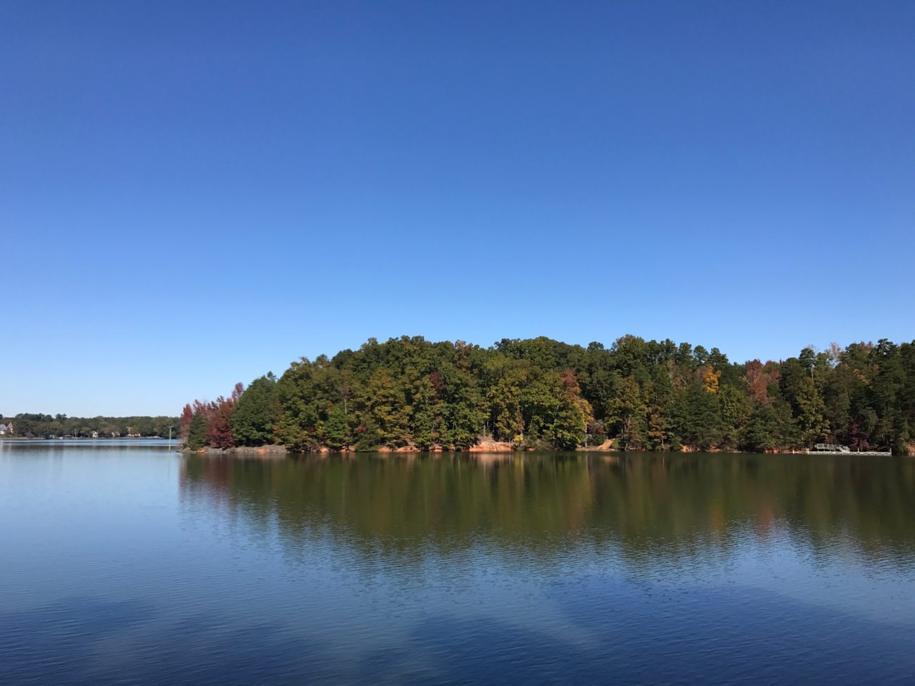 You can rent your own 14-acre island on Lake Wylie for less than $200/night