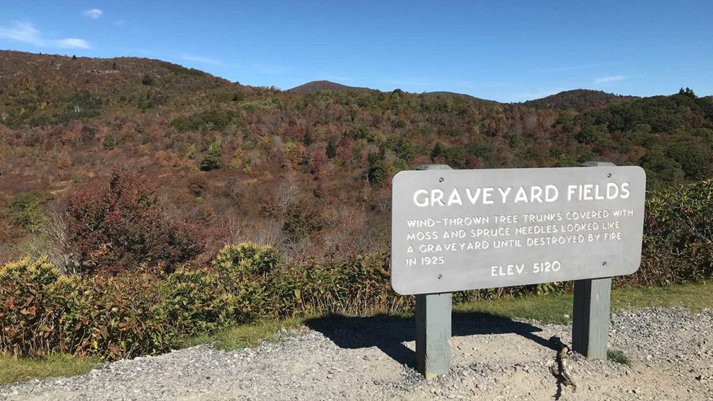 Anxious for some fall color? Try a day trip to Graveyard Fields, less than 3 hours from Charlotte