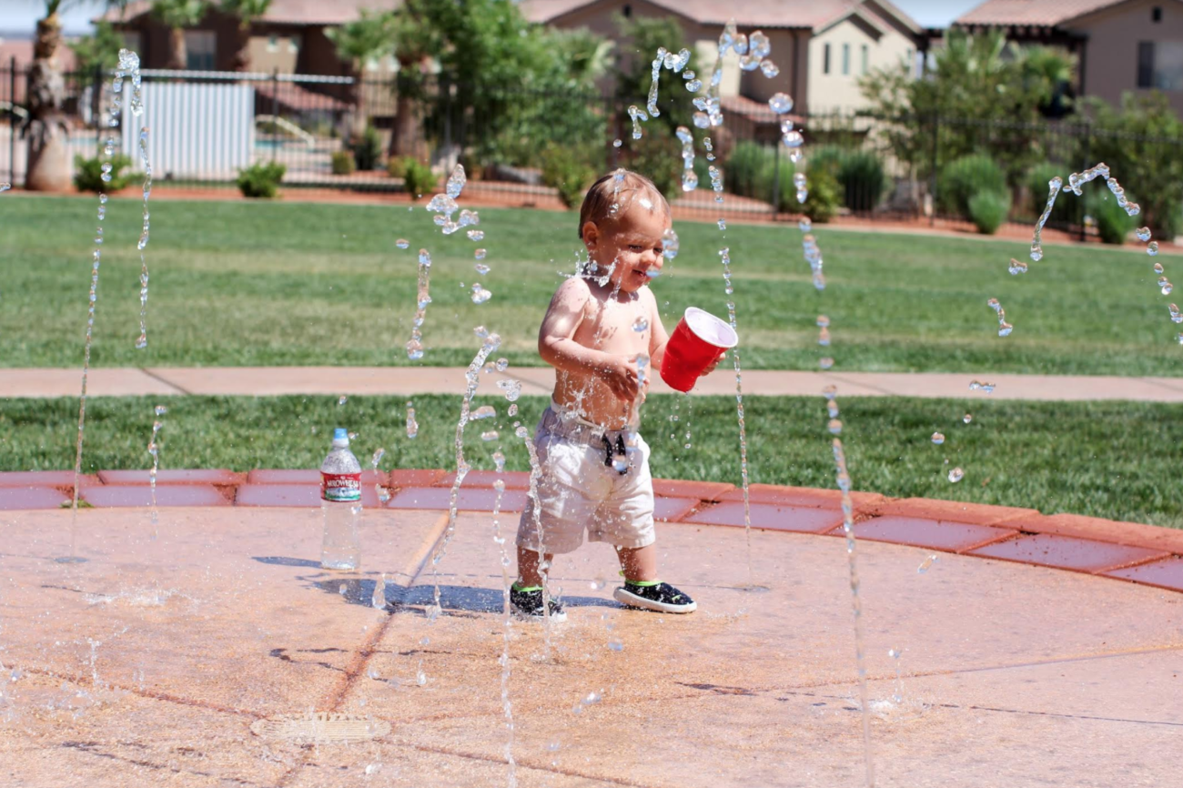 Residential splash pads are a new trend in Charlotte backyards