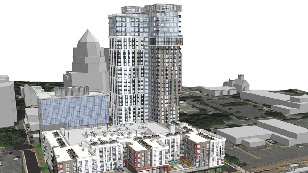 The Market 42 high-rise apartment project is ready to shape the north side of Uptown