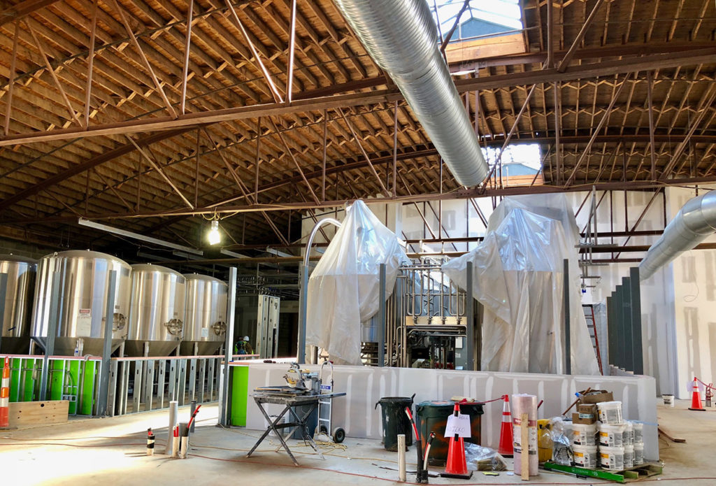 Take a look inside the massive new dual-branded brewery opening just down the street from OMB