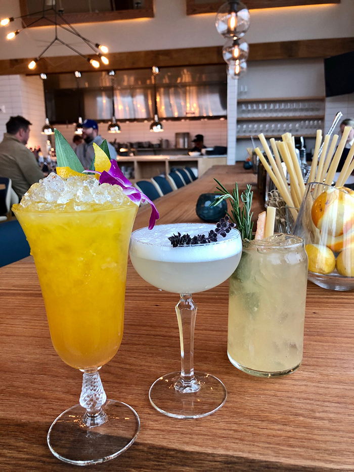 cocktails at indaco charlotte