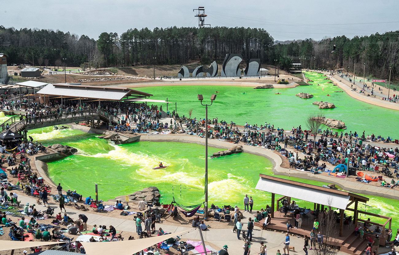 """Whitewater Center expects over 12,000 visitors for """"Green River Revival"""" on Saturday"""