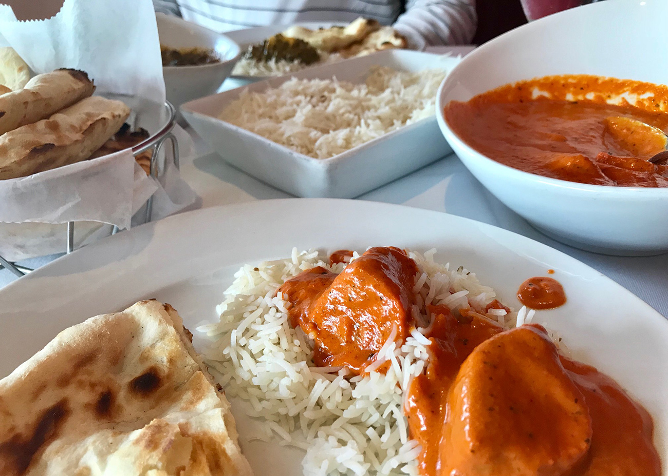 Does everyone know about Copper's $11-$17 customizable lunch special with soup or salad, an entree, rice and naan?