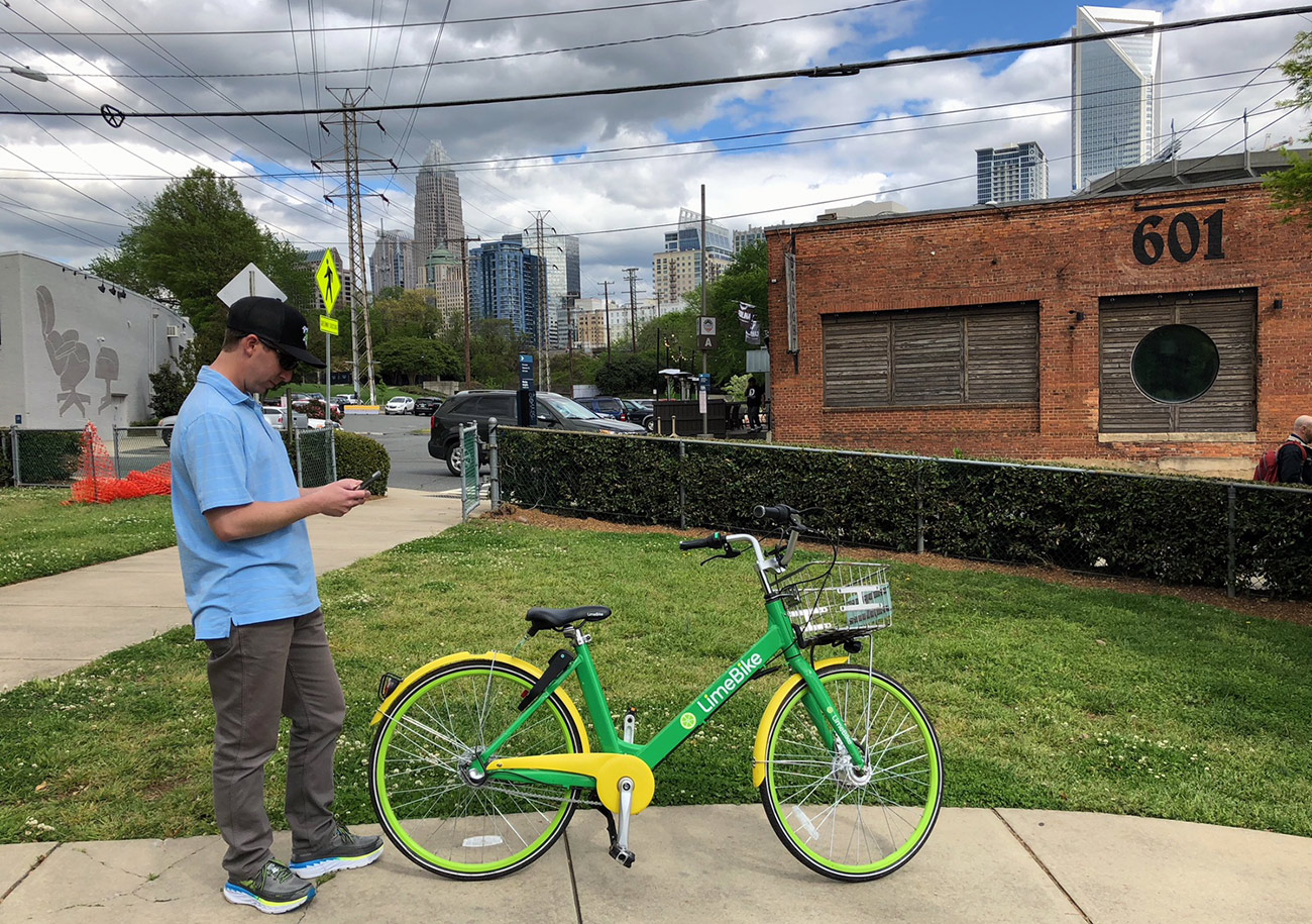 Actually, dockless bikes don't suck