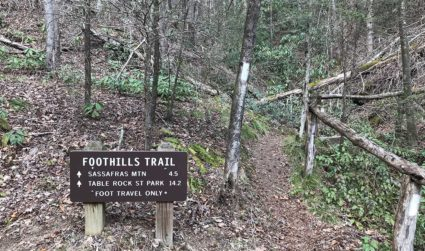 How to spend a weekend hiking the Foothills Trail in South Carolina, 3 hours from Charlotte