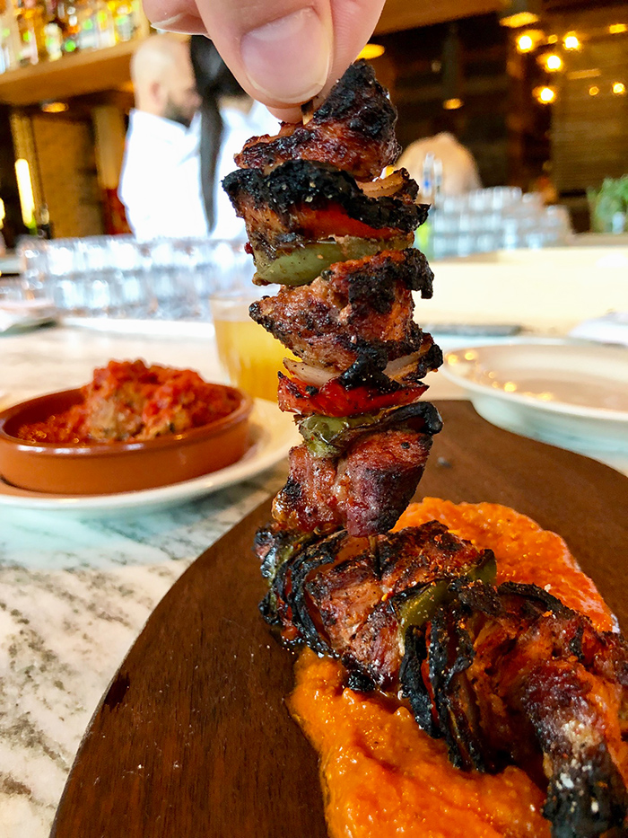 lamb-skewer-at-barcelona-wine-bar