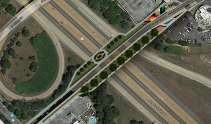 Here's what a Rail Trail bridge over I-277 could look like and why we need it