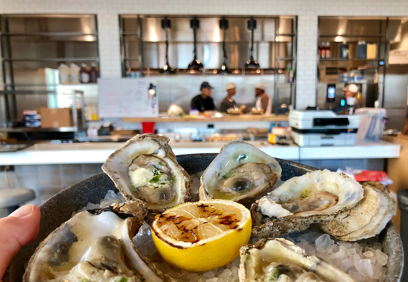 The Waterman, a new seafood joint in South End, opens 80-seat rooftop bar