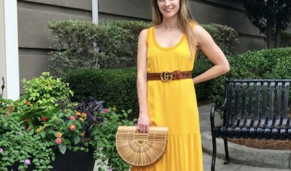 4 styles to wear this wedding season, including a $176 midi dress and $1,600 wallet