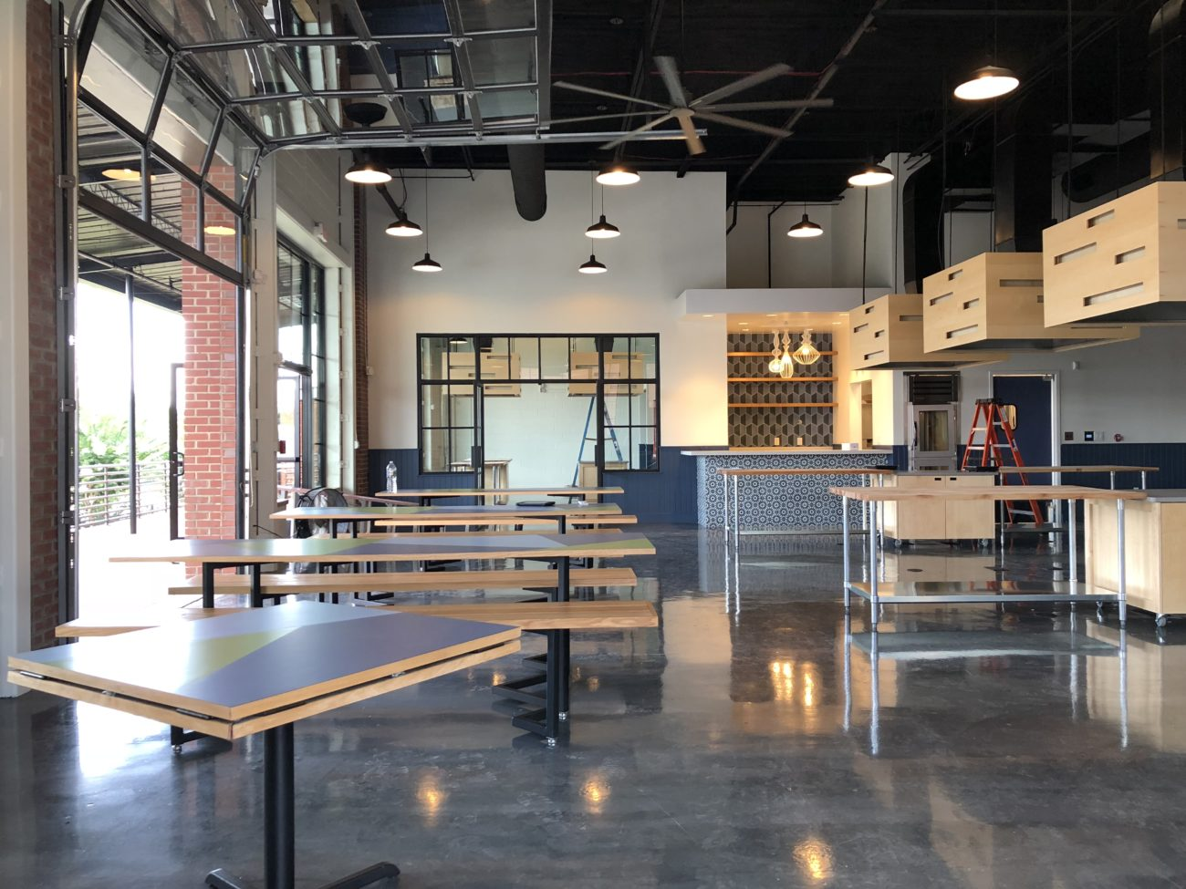 See inside the new Chef Alyssa's Kitchen, targeting a late August open date in Lower South End