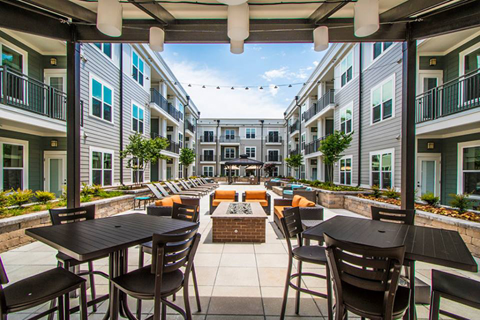 julien apartment complex in plaza midwood charlotte