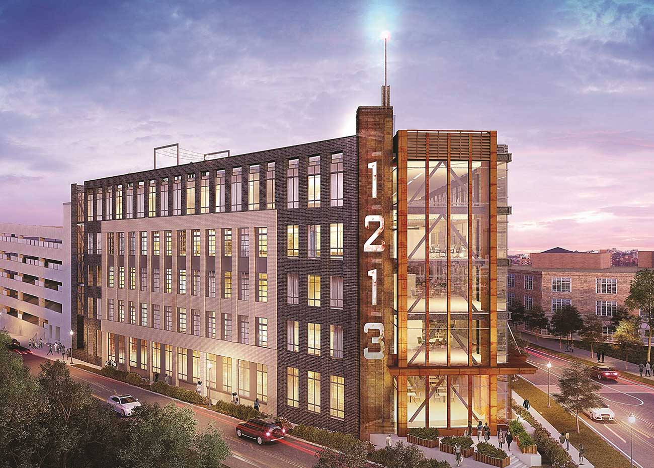 New coworking space becomes first tenant signed at Refinery building on West Morehead