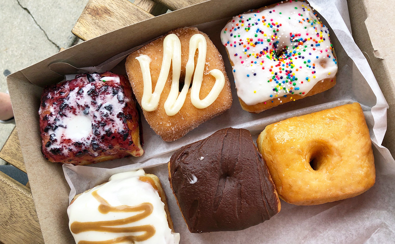 Your Mom's Donuts opening shop in Park Road Shopping Center