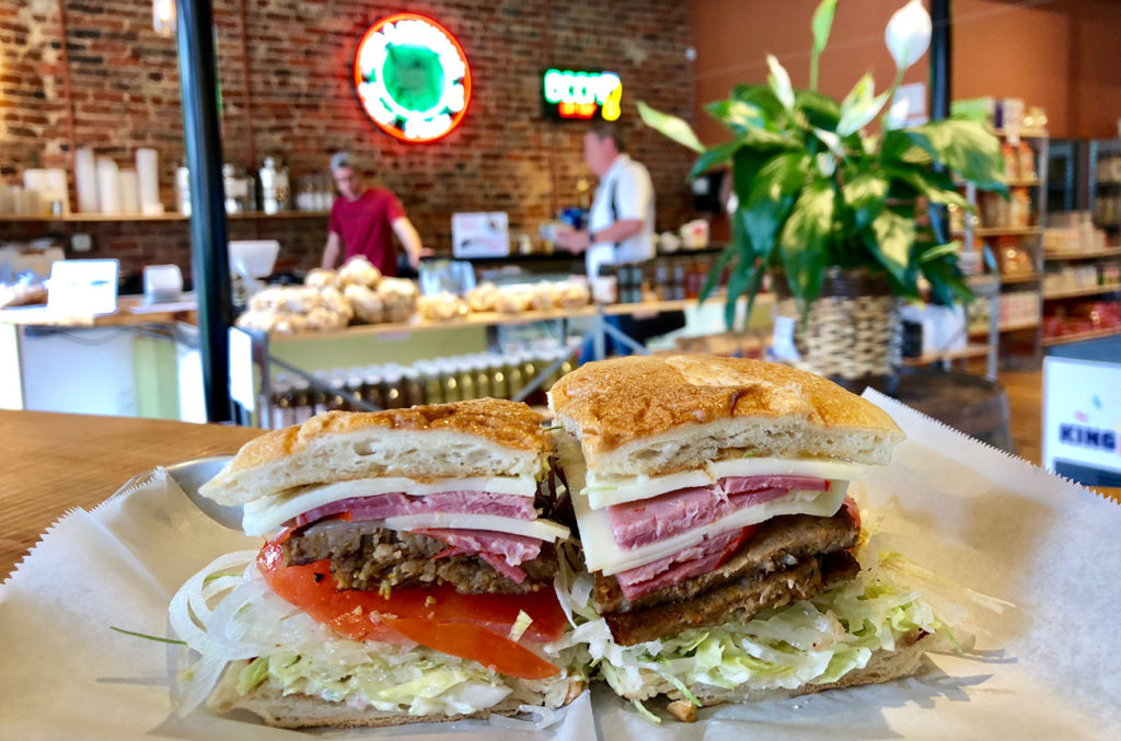 Wait, what? Is the #1 sandwich in Charlotte from a pasta joint?