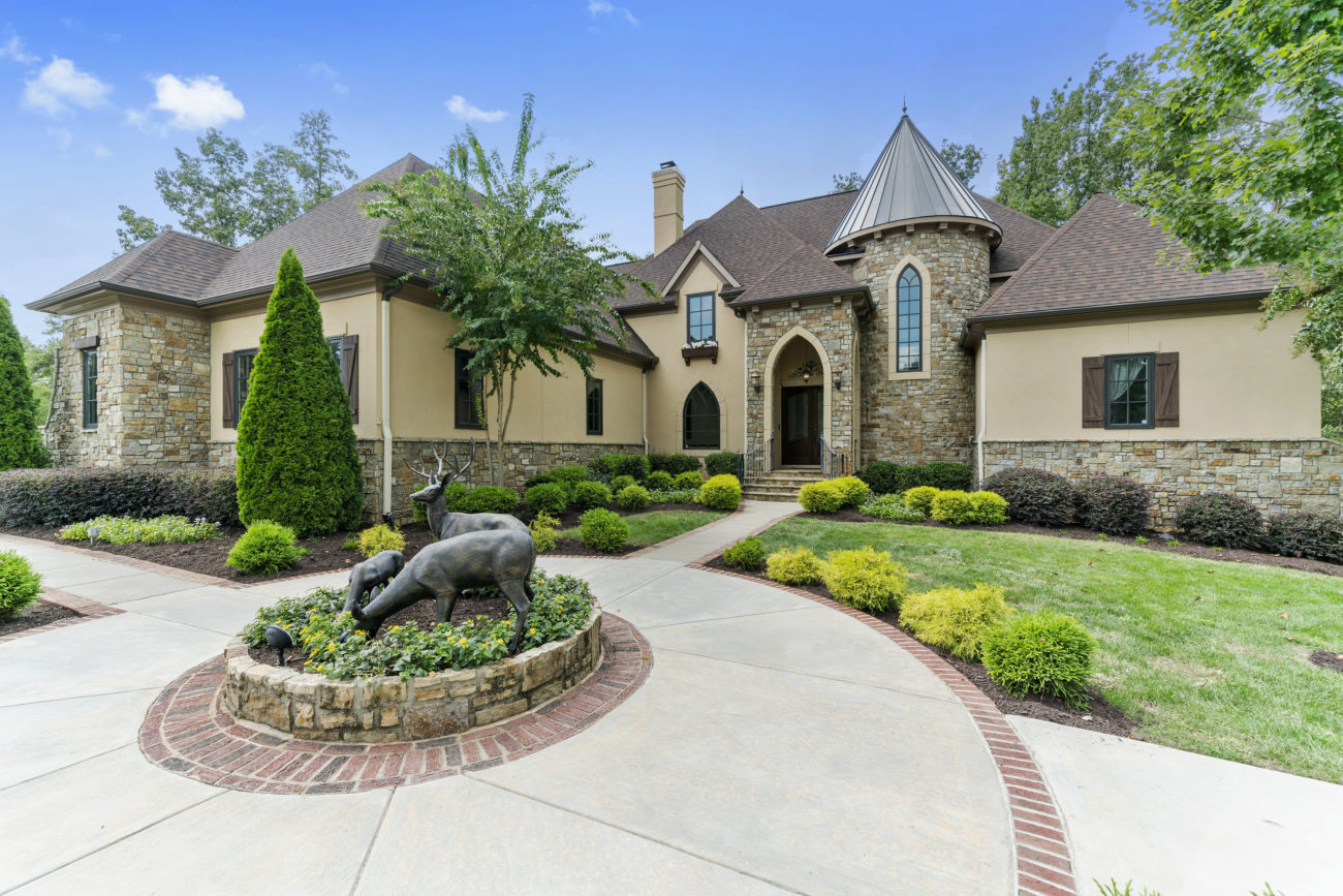 This $2.5 million Fort Mill mansion has a village in its basement – including a soda shop, toy store and movie theater