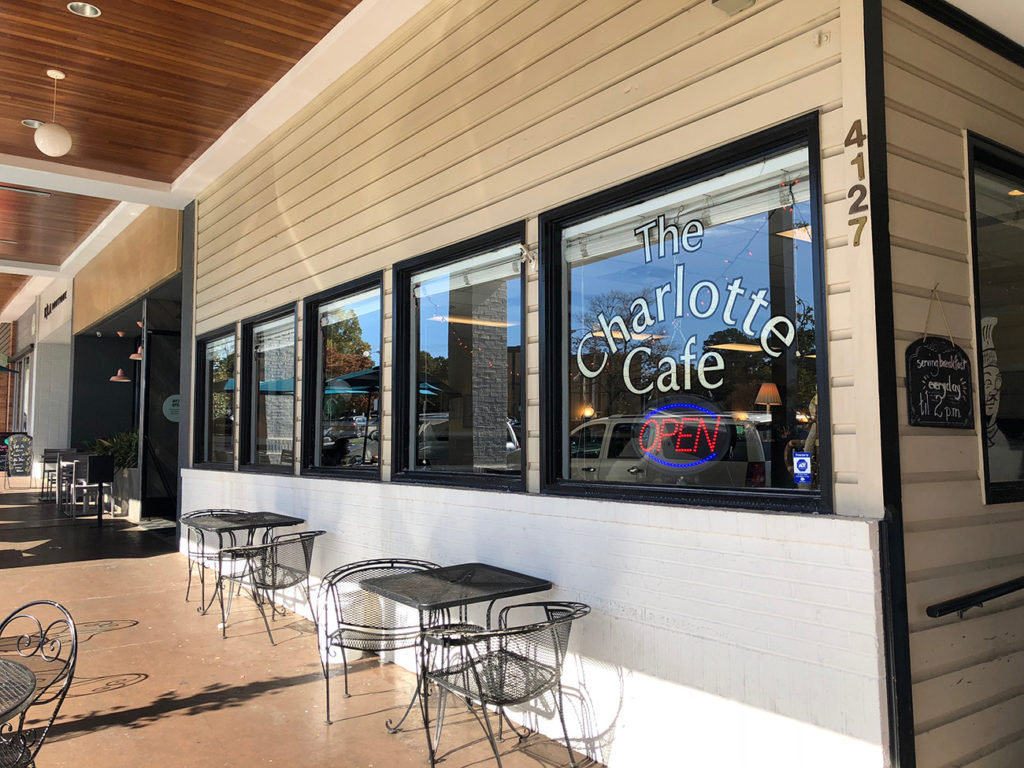 The Charlotte Cafe is closing Oct. 31 after 38 years at Park Road Shopping Center