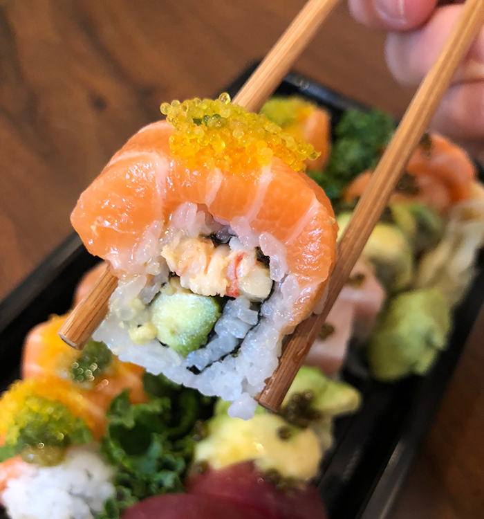 salmon-sushi-roll-clean-catch-charlotte