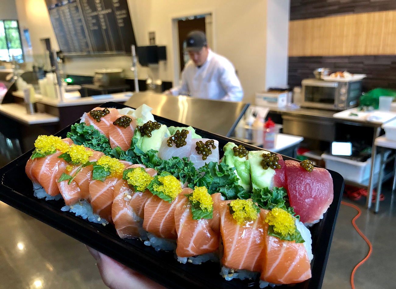 Clean Catch now serving sushi and will soon debut a new sushi bar