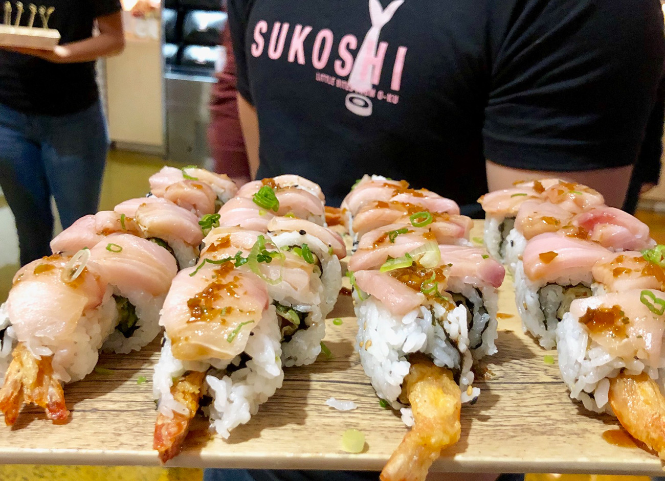 8 quick things to know about Sukoshi, the new Uptown sushi spot from O-Ku