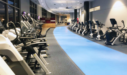 Lowe's HQ just opened their state-of-the-art fitness center on campus. 17 photos inside.