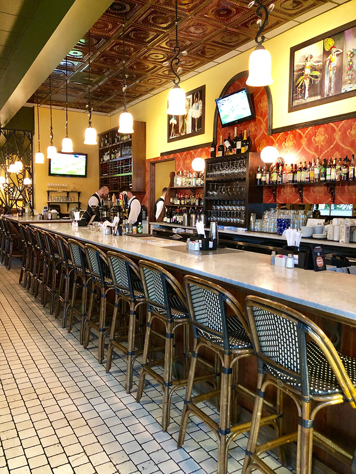 bar at cafe monte southpark charlotte