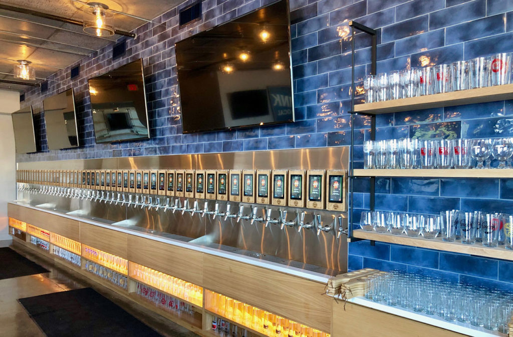 Go inside: Taproom Social, Uptown's first self-serve bar, now open near BB&T Ballpark with 50 taps