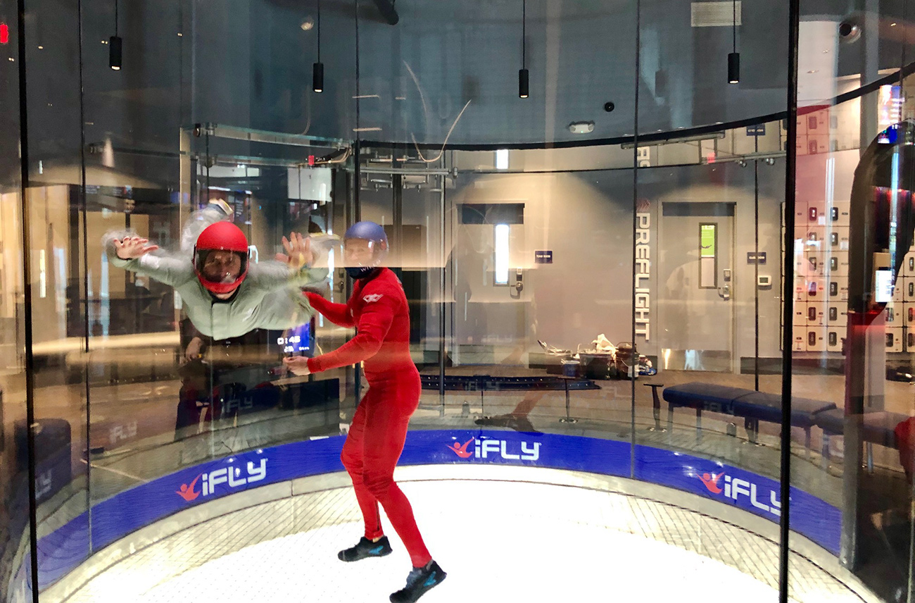 Go inside: iFLY, a modern indoor skydiving facility, now open near Charlotte