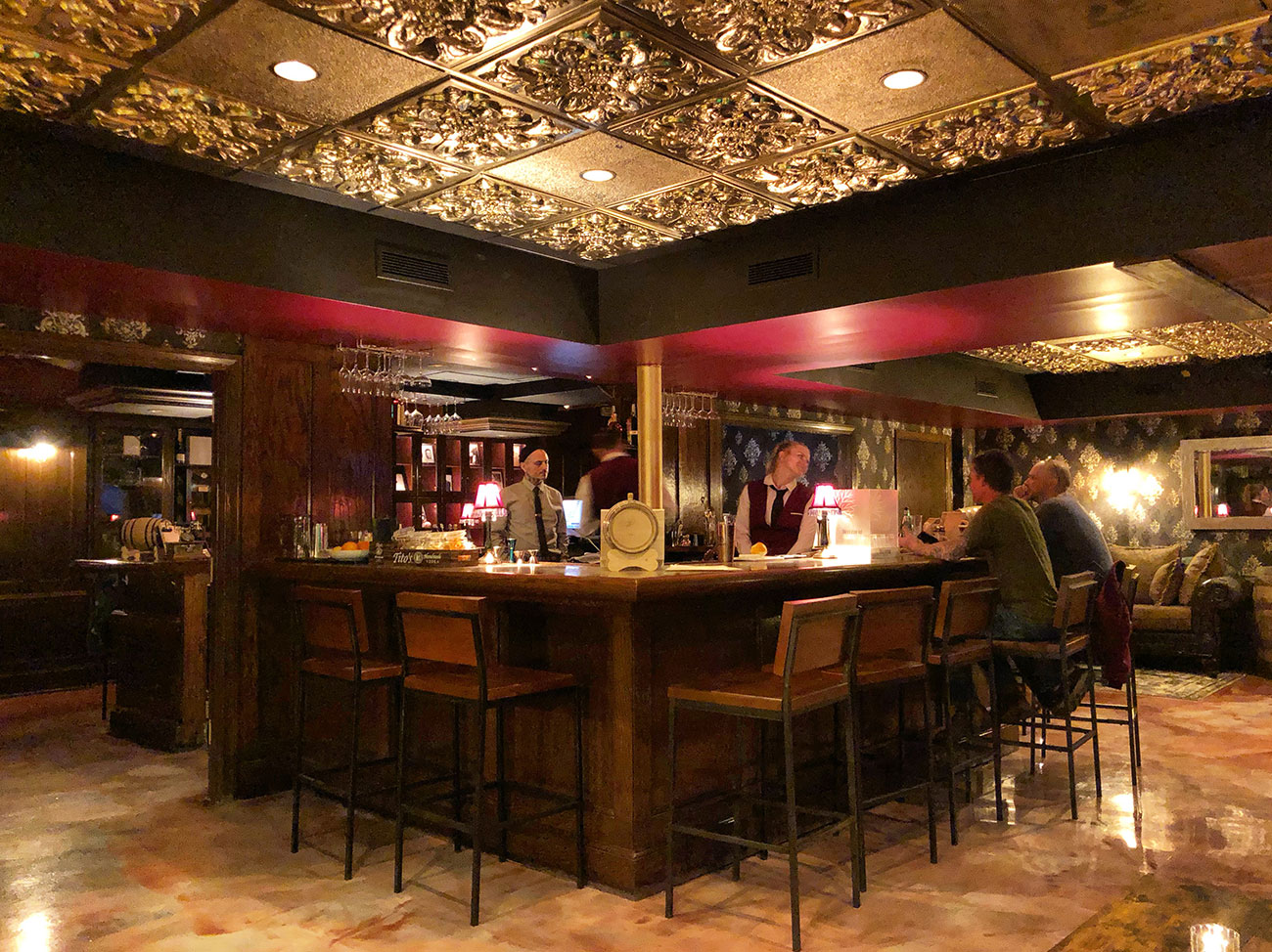 Here's how to get into South End's new password-protected speakeasy