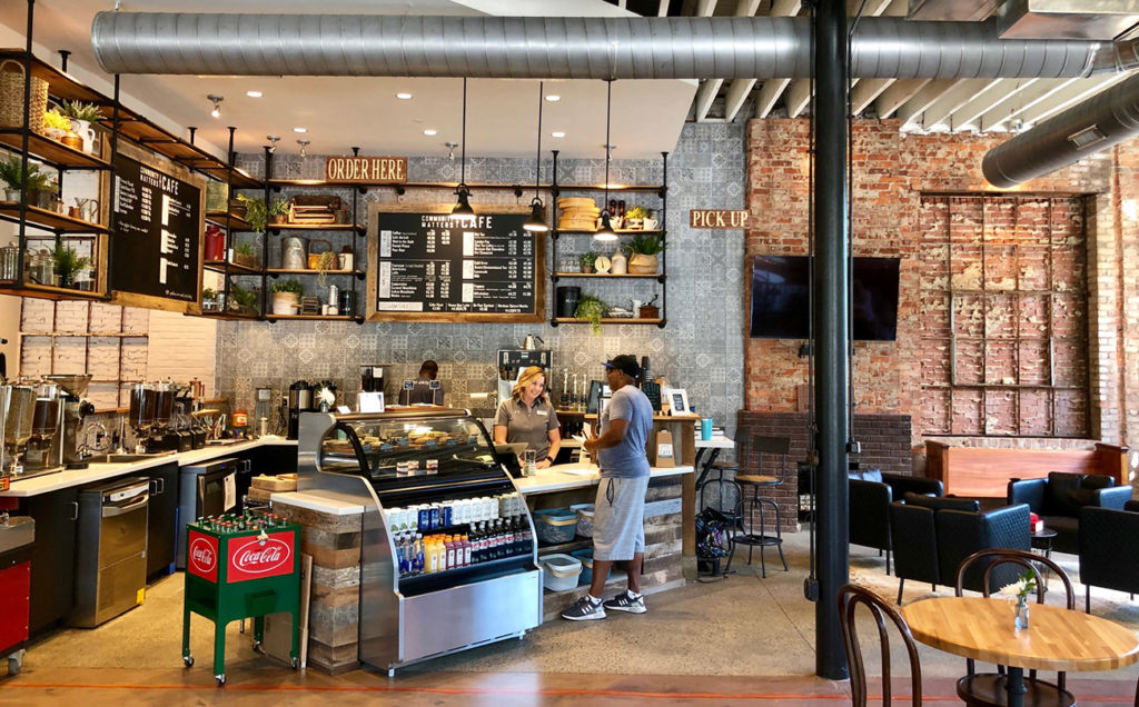 Now Open: Community Matters Cafe serving breakfast, lunch and coffee near Bank of America Stadium