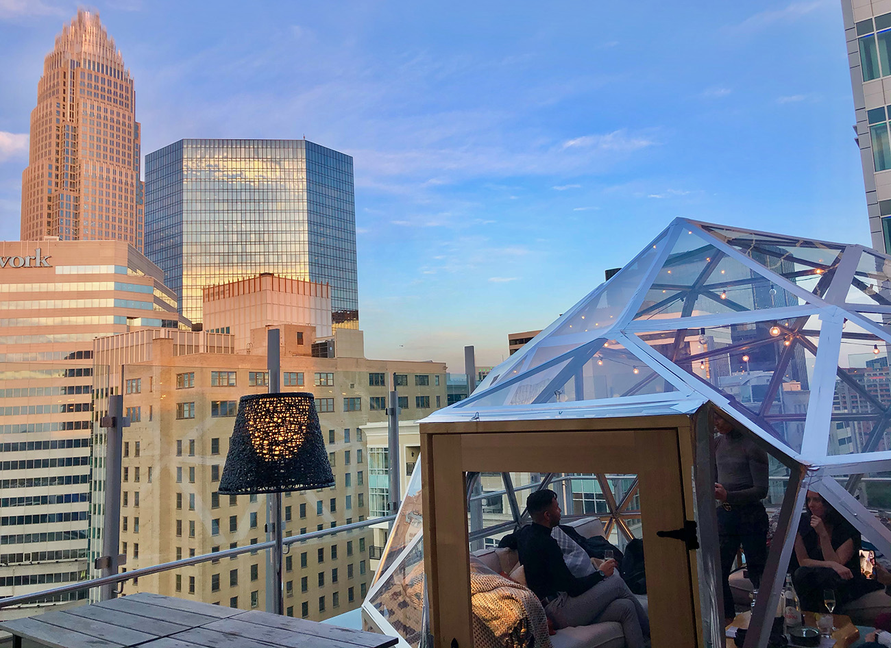 12 best rooftop bars in Charlotte