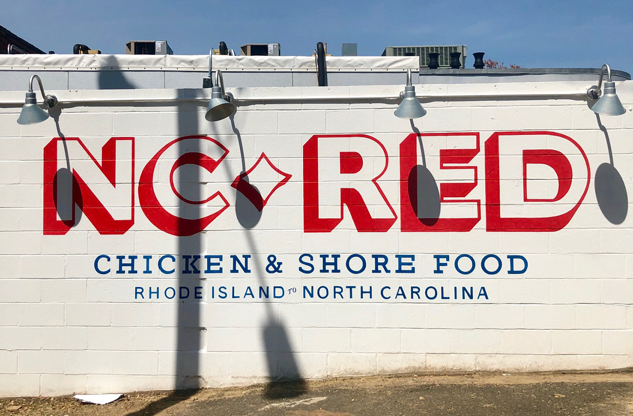 Go Inside: N.C. Red, Bruce Moffett's new restaurant, now open in Plaza Midwood — view full menu and food photos