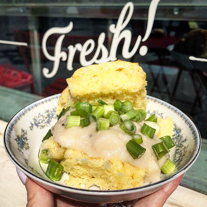 Build Your Own Biscuit at callie's hot biscuit