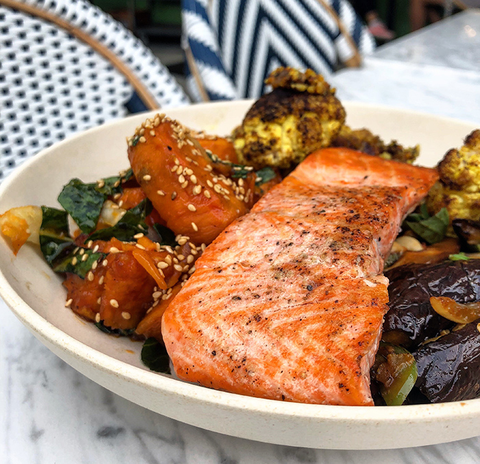 Mother Earth with Salmon at flower child charlotte