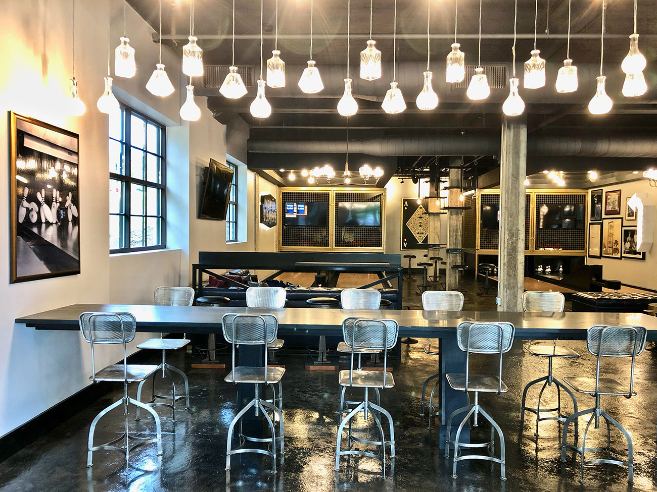 Pinhouse, a new self-serve bar with duckpin bowling from Hoppin' owners, opens July 27 in Plaza Midwood