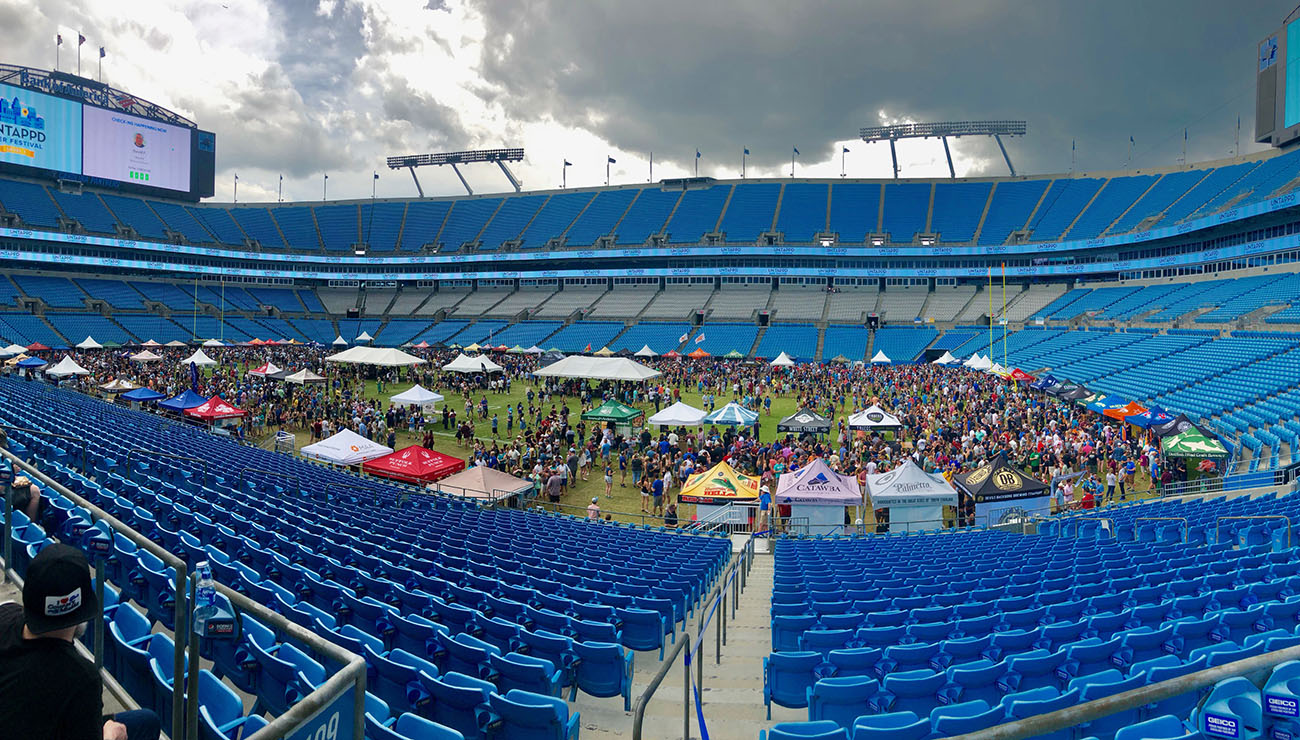 """What happened at the Untappd Beer Festival at Bank of America Stadium? """"We made some mistakes operationally"""""""