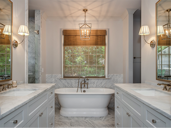 Home of the Year 2019 modern turdor concept master bathroom