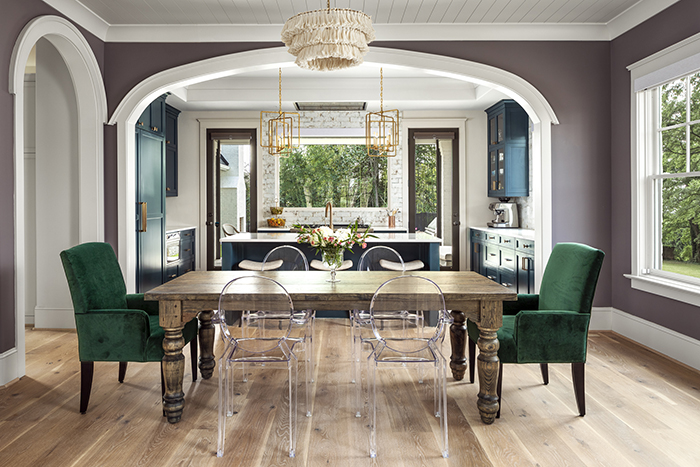 Home of the Year 2019 Finalist for Interior Design dining room
