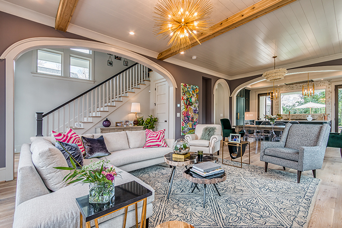 Home of the Year 2019 Finalist for Interior Design living room