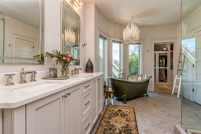 Home of the Year 2019 Finalist for Interior Design master bath